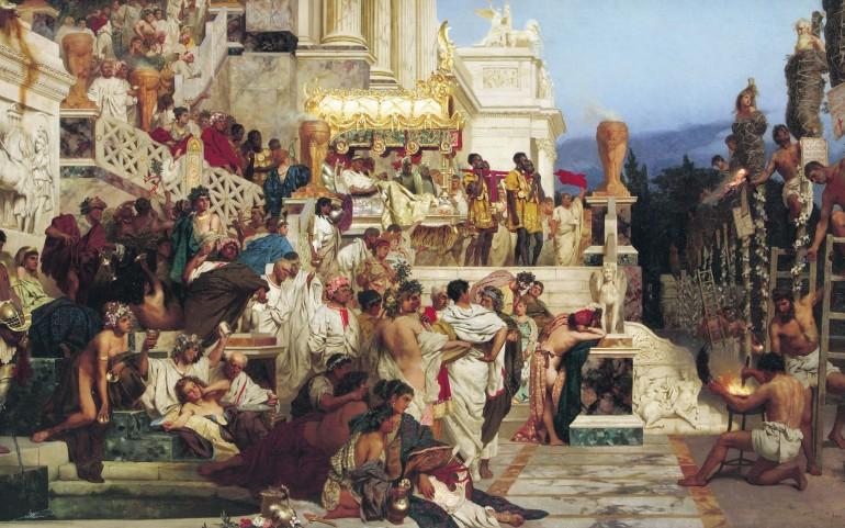 Bacanales en el Imperio Romano