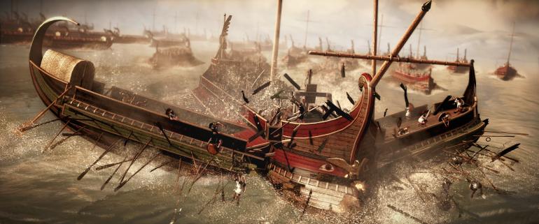Barcos Romanos
