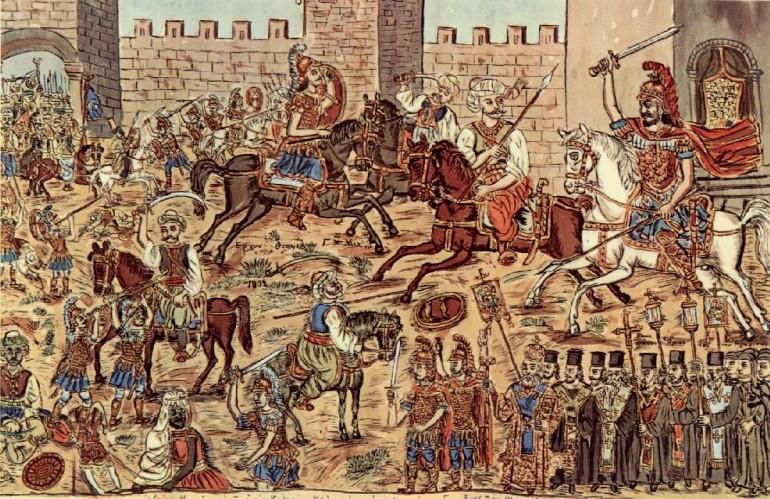 Caida de Constantinopla Imperio Bizantin
