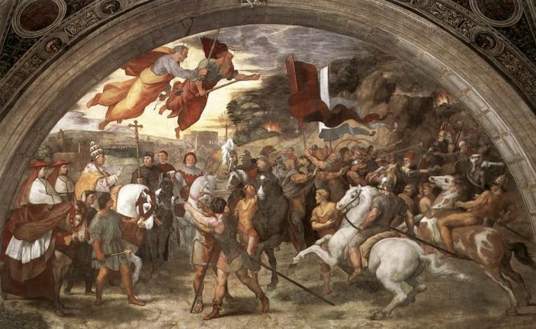 Caida del Imperio Romano - Rafael