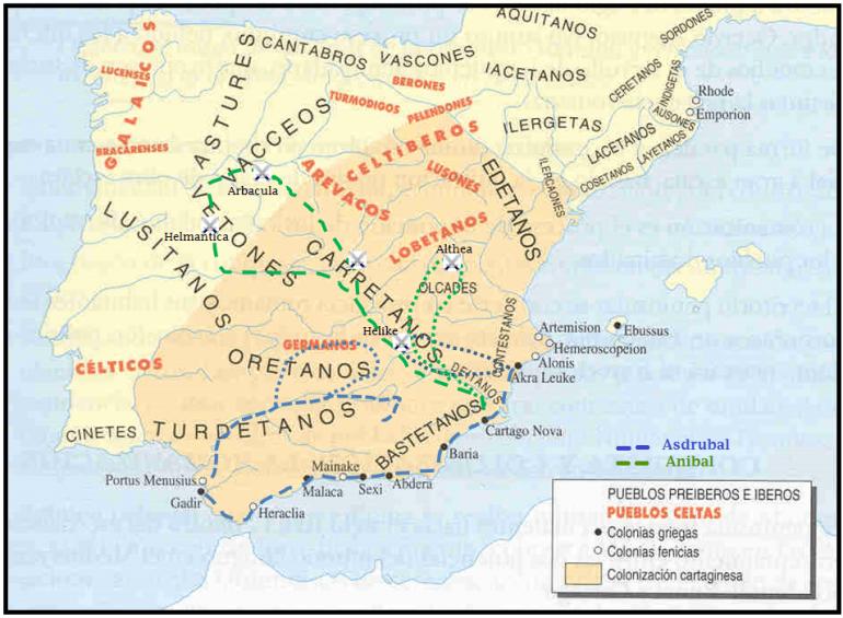 Conquista Cartaginesa de España