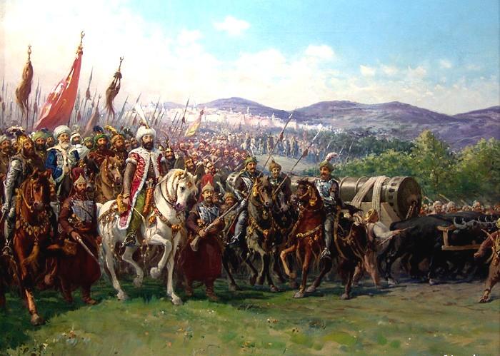 Ejército Otomano Constantinopla