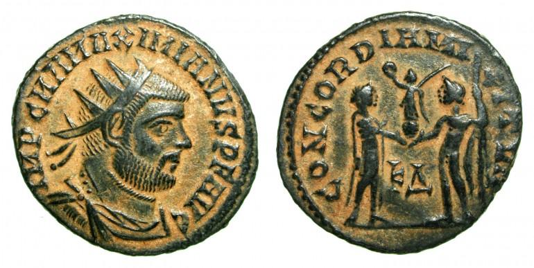 Monedas de Bronce de Roma