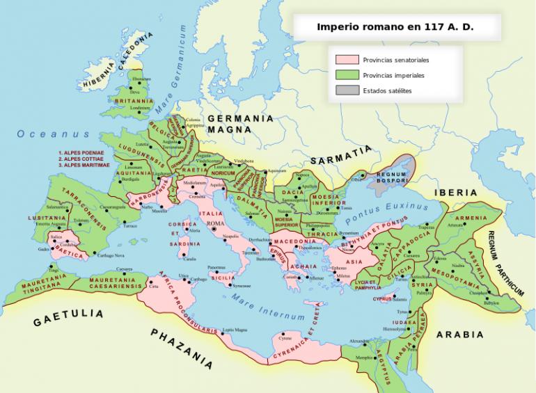 Provincias del imperio romano for Provincia sudafricana con durban